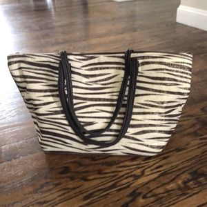 Handbags - Animal print tote